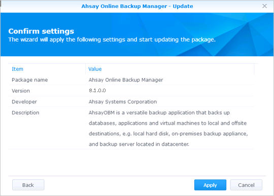 ahsay_wiki_software_synology_requirement_15.png