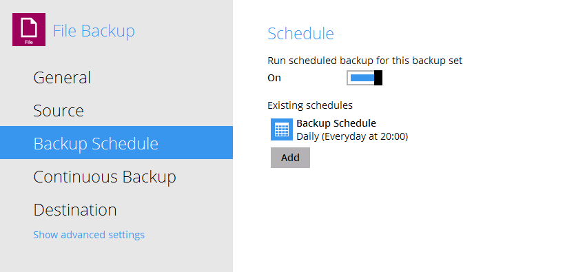 FAQ: Troubleshooting problem with missing scheduled backup